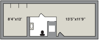 double room layout