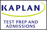 graphic reads: Kaplan test prep and admissions