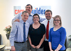 CoB Interns at Career Builder