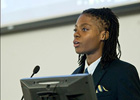 Marketing senior receives award during 2014 McNair's Summer Research Symposium