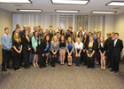 PSE College of Business students excelled during a two-day regional conference in Iowa