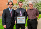 Health care organization honors student