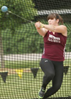 photo of DeAnna Price hammer throwing