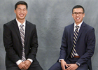 Steven and Brian Ta, accounting majors