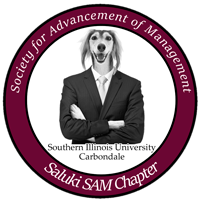 SAM log of saluki dog in a suit